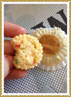 Mini Cupcakes de limón por dentro