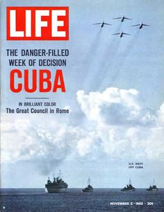 Everyone on edge!!    I lived the Cuban Missile Crisis as Secretary of the Director of Water Resources, State of Nebraska, ready to go to the University of Nebraska bomb shelter. which I toured and was familiar with.   sll