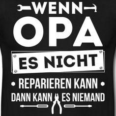 Opa - Großartige Väter - Männer T-Shirt