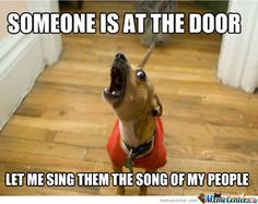 Let me sing you the song of my people.