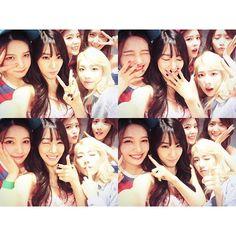 2015-09-13, 17:45 TaeYeon @taeyeon_ss 진짜 동생들이랑.....Instagram photo | Websta (Webstagram)「本当の妹たちと」.....笑