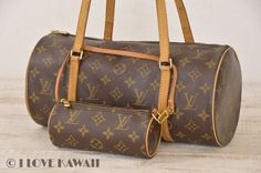 Louis Vuitton Monogram Papillon 30 With Pouch Hand Bag M51385