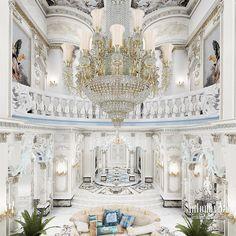 Villa Interior Design in Dubai, Palace in Dubai, Photo 1