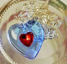 Beautiful Zelda Heart Piece Necklace  please read par MatchaNest, $16.00