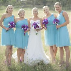 Purple And Aqua Wedding Colors | Wedding Ideas