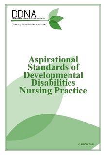 Standards of Developmental Disabilities Nursing Practice