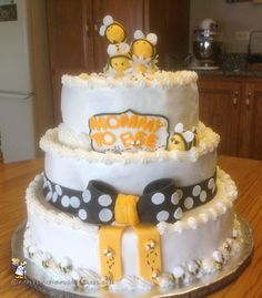 Mommy to Bee Baby Shower Cake... Coolest Birthday Cake Ideas