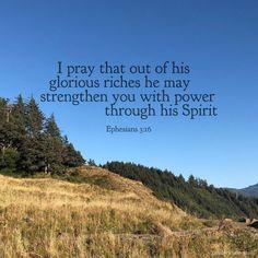 Ephesians 3, Daily Bible, I Pray, Christ, Faith, God, Instagram, Dios, Allah