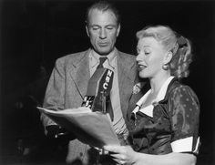 Gary Cooper and Ginger Rogers