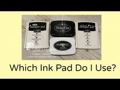 Quick Crafting Tip - Which ink pad do I use?  Stampin' Up!, card, paper craft , scrapbook, craft, rubber, Staz On, Memento, craft, archival, stamps, hobby, PDF project tutorials, Studio Stamps in the Mail, www.lisasstampstudio.com