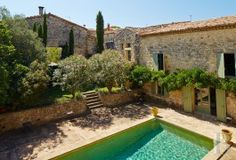 A superbly restored, large, traditional Mas house and its outbuildings near to Uzès - character properties France - in Provence, Languedoc-Roussillon, Côte d'Azur, Upper-Savoie - Patrice Besse Castles and Mansions of France is a Paris based real-estate agency specialised in the sale of Character houses.