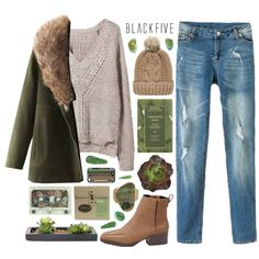#blackfive @blackfive  You can find the sweater, coat, jeans, ankle boots, knitted hat, and more great finds all at www.blackfive.com :)  Join my group :) http:...