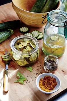 August 2016 Recipes: Bread and Butter Zucchini Pickles