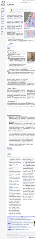 Screenshot: Promised Land - Wikipedia Promised Land, Landing, Paradise, Blessed, Heaven, Sky, Heavens