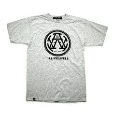 Alive & Well Monogram Logo T-Shirt