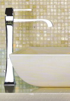 Gessi Mimi wall mounted basin mixer tap, ideal for any contemporary washbasin, available in various finishes
