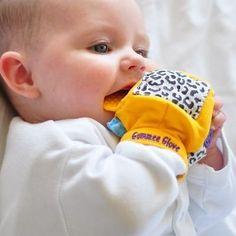 Gummee Glove Teething Mitten Teether Teething Ring PINK:Amazon:Baby  I need this!!