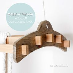 WOODi Drying Rack from The New Clothesline Company