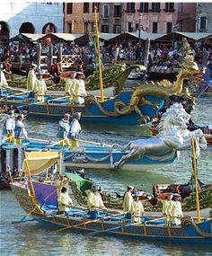 Historic Venice Regatta