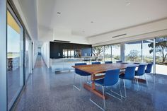 Polished concrete Grand Designs Australia - Series 3-Episode 7: Barossa Valley Glass House | LifeStyle Channel