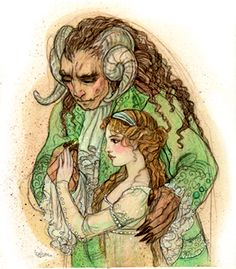 Art by Rebecca Guay, Beauty and the Beast