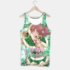 Merry Xmas Sailor Jupiter Tank Top