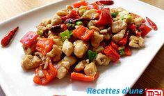 Poulet Kung Pao. La recette Poulet Kung Pao par margot zhang.