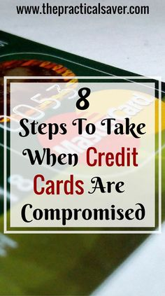 "This "" Steps to Take When Your Credit Card is Compromised "" post provides information on what the victims of credit card breach or fraud can take to help them reduce the damages this unlawful can do to them.  Just the other day, one of my co-worker's credit card was hacked. She was in great disbelief. Unfortunately, her bank account was completely drained but the good thing was that her bank returned all her funds."
