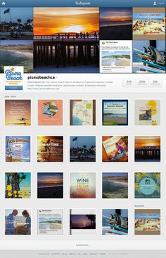 Follow us on Instagram at '@PismoBeachCa' #pismobeach #pismopier #follow
