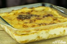 Bacalhau com natas (gratin de morue a la portugaise)