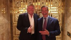 Nigel Farage to become the fourth Mrs. Donald Trump -- The 'Special Relationship' between the United States and Britain is likely to get a lot stronger thanks to the efforts of Nigel Farage. He is to become the fourth Mrs. Donald Trump.  -- #Farage, #Trump -- http://wp.me/p7GOKB-2dO