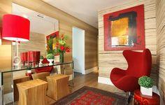 Decor Salteado - Blog de Decoração | Design | Arquitetura | Paisagismo: Hall de Entrada – veja 40 entradas triunfais e dicas de como decorar!