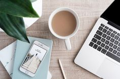 Workspace Flat Lay With Laptop ~ Business Photos ~ Creative Market Photography Tattoo, Laptop Photography, Underwater Photography, Nature Photography, Flat Lay Photography Instagram, Coffee Photography, Photography Ideas, Minimalist Photos, Minimalist Photography