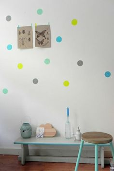 #dots #wallpaper #kidsroom