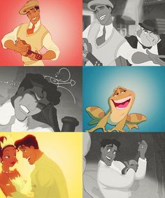 Not my favorite princess movie, but I adore Naveen. And Tiana, for that matter. She's awesome, too