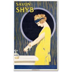 Trademark Fine Art Savon S H Y B Canvas Art, Size: 30 x 47, Multicolor