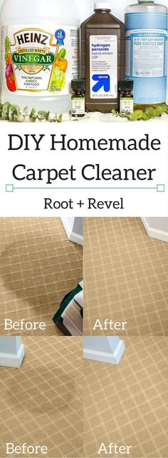 Carpet Cleaning Tips. Discover These Carpet Cleaning Tips And Secrets. You can utilize all the carpet cleaning tips in the world, and guess exactly what? You still most likely can't get your carpet as clean on your own as a pr Deep Cleaning Tips, House Cleaning Tips, Diy Cleaning Products, Cleaning Solutions, Cleaning Hacks, Cleaning Rugs, Cleaning Quotes, All You Need Is, Car Carpet Cleaner