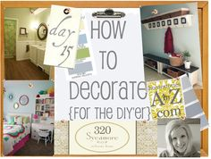 How to Decorate Series {day 15}: Putting a Room Together by 320 Sycamore
