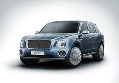 Bentley Sport Utility Vehicle Concept Car EXP 9 F
