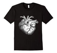 Playera, 100% algodon, estampado de corazon, para dama caballero y niño, Color Negro