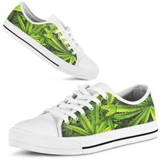 Low Top Shoes Cannabis