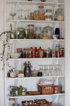 Öppna hyllor i köket | Getingedalen | inspiration från IKEA