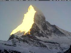 Golden Matterhorn - 4478 m (Switzerland)