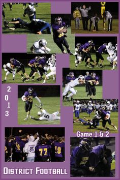 Images from 2013 District Football. Tekamah-Herman football boys made it to 2 playoff games this year!