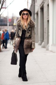 A statement coat works wonders