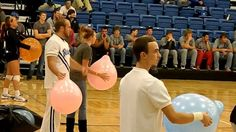 Caleb and Lance participate in homecoming games at the pep rally. Cheer Coaches, Cheer Mom, Cheer Gifts, Cheer Stuff, Homecoming Games, Homecoming Week, Pep Rally Games, Pep Club, Activity Games