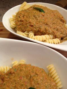 Pasta mit roher Toamtensauce Pasta, Risotto, Blog, Beautiful, Rice, Friends, Kochen, Food, Recipies