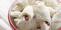 Recepti i Savjeti: Kiflice Bosnian Recipes, Croatian Recipes, Bajadera Recipe, Sweet Desserts, Sweet Recipes, Cookie Recipes, Dessert Recipes, Macedonian Food, Kolaci I Torte