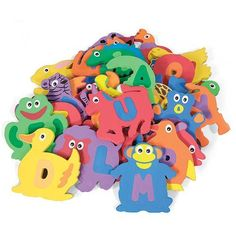 Foam Bath Toy Shapes for Kids by One Step Ahead. $39.99