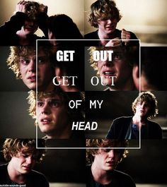 Tate Langdon // AHS Seriously Tate, get out of my head. I have insomnia thanks to you.